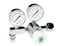 Brass Single Stage Oxygen Regulator 100 psi