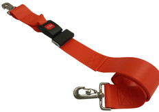 Impervious 2 pc. Metal Buckle & Speed Clip End Spineboard Strap - 7'