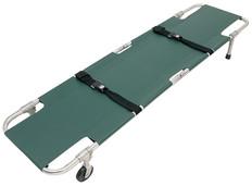 Junkin Easy-Fold Wheeled Stretcher - 2 Wheels