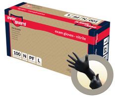 EverGuard Black Powder Free Nitrile Glove